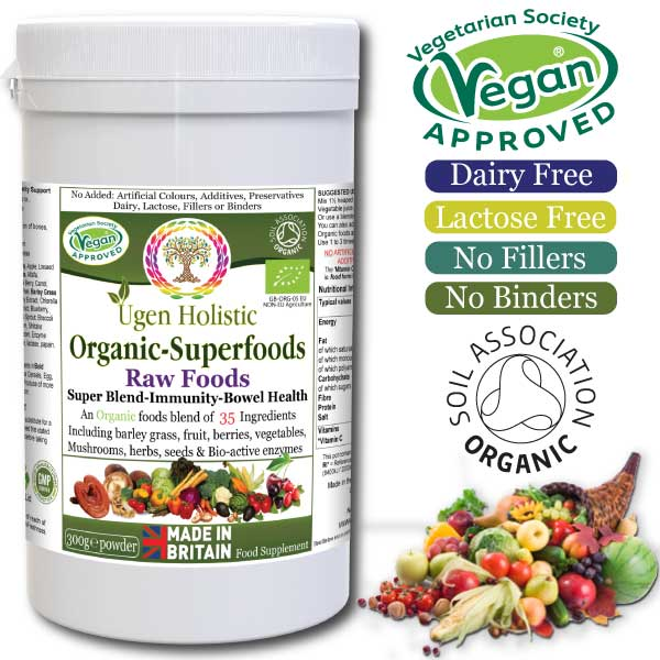 Organic Superfoods-Raw Foods Super Blend