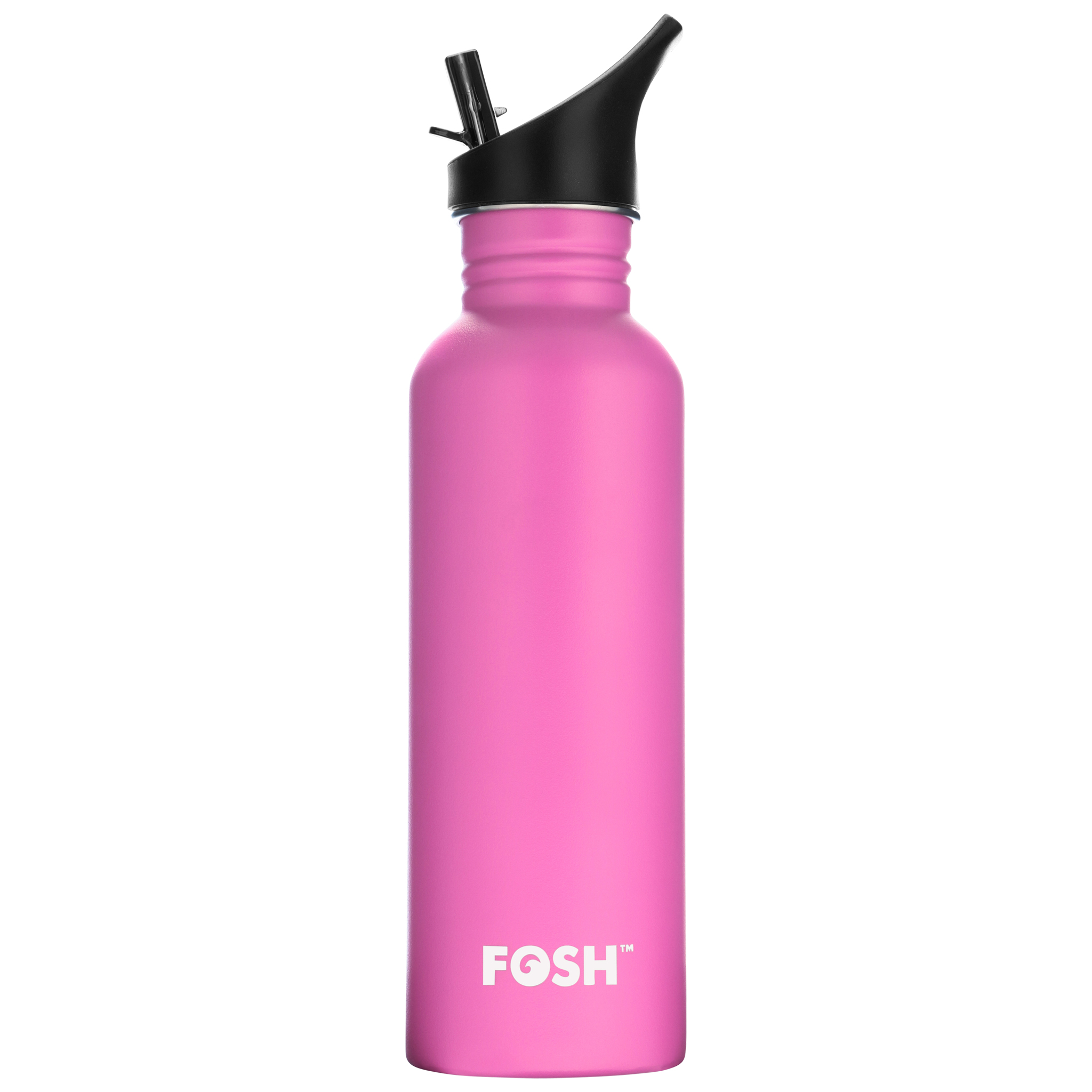 Stainless Steel Water Bottle Non Insluated Speed King Flamingo Pink