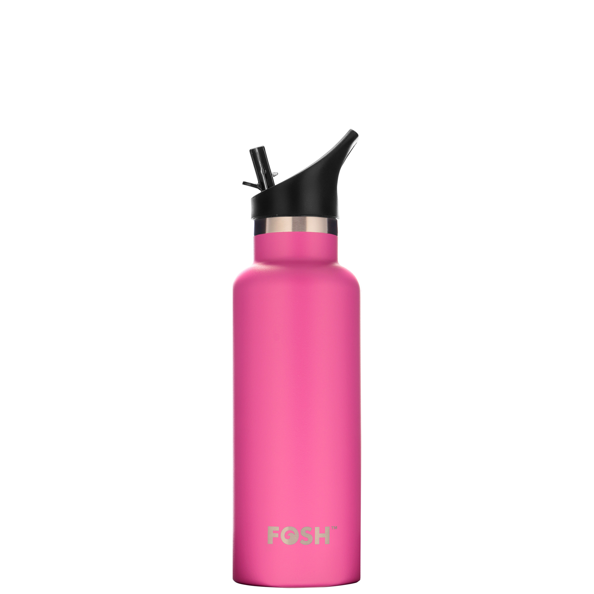 Stainless Steel Water Bottle Triple Insulated With Flip Lid Flamingo