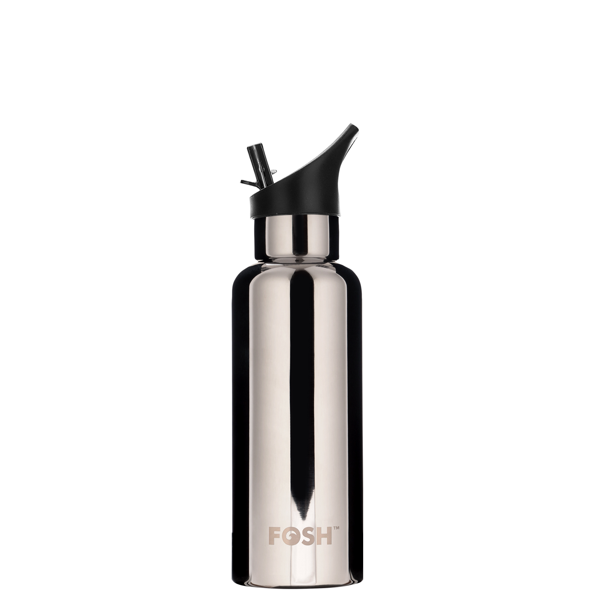 Stainless Steel Water Bottle Triple Insulated With Flip Lid Mirror