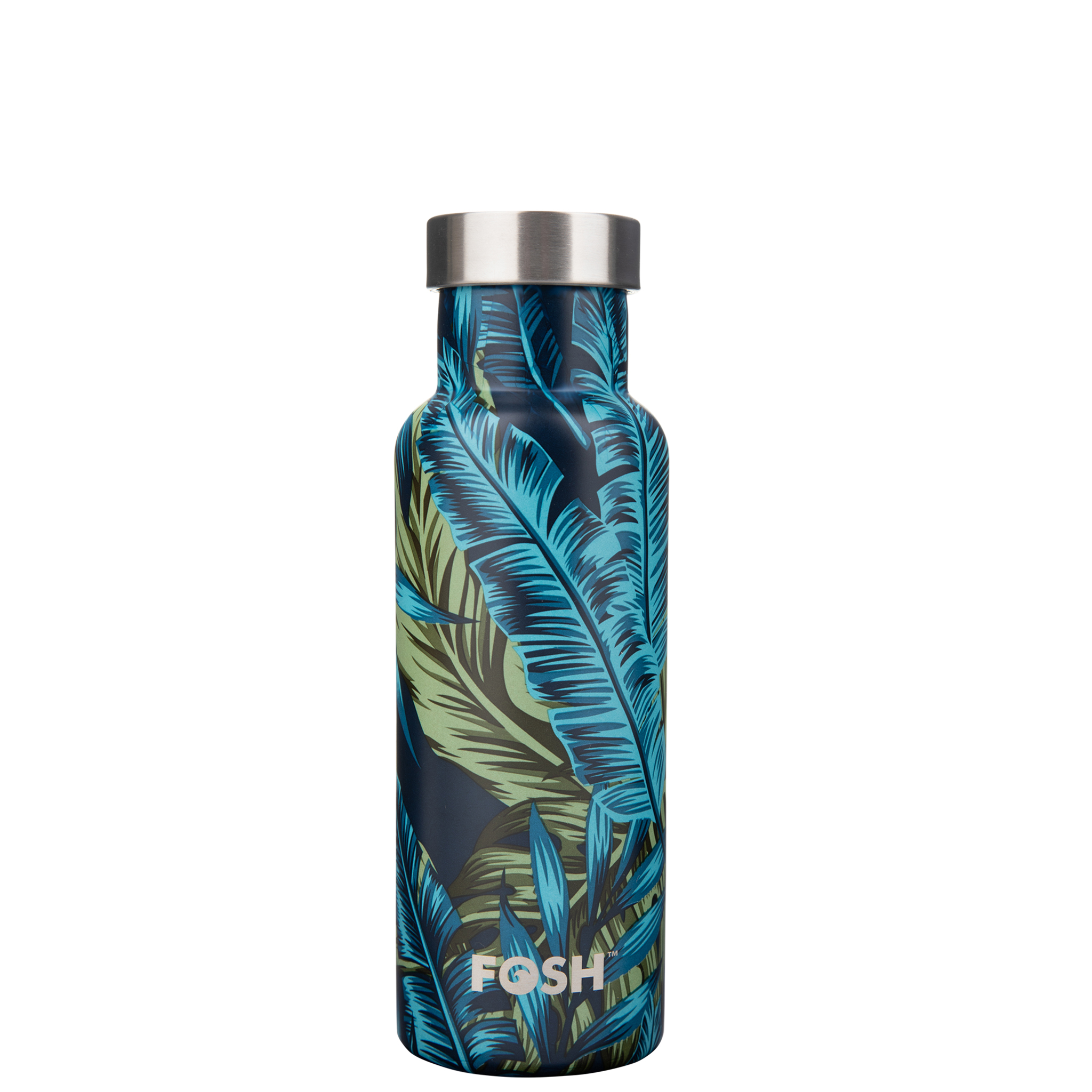 Stainless steel water bottle triple insulated palm