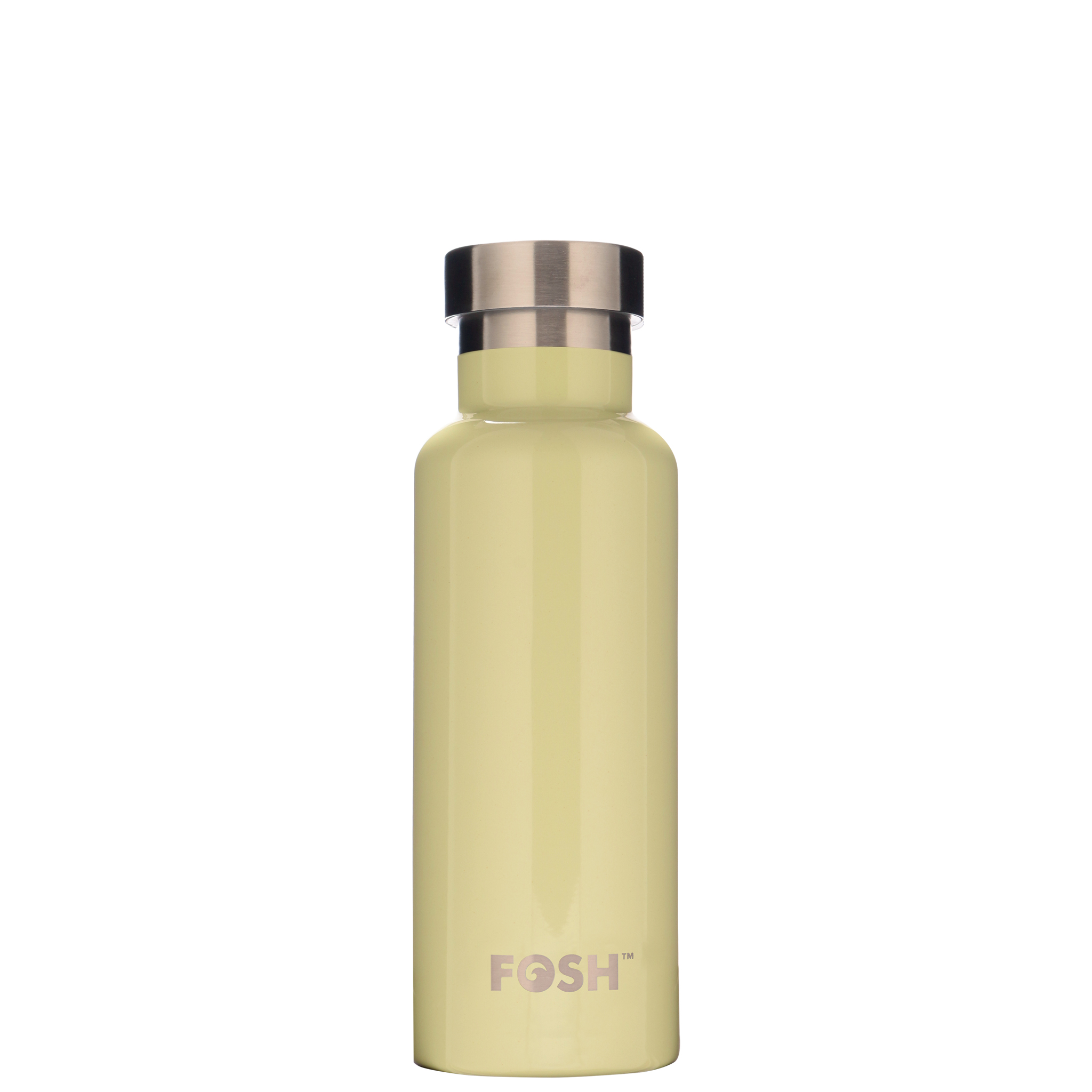 Stainless steel water bottle triple insulated pistachio gloss finish