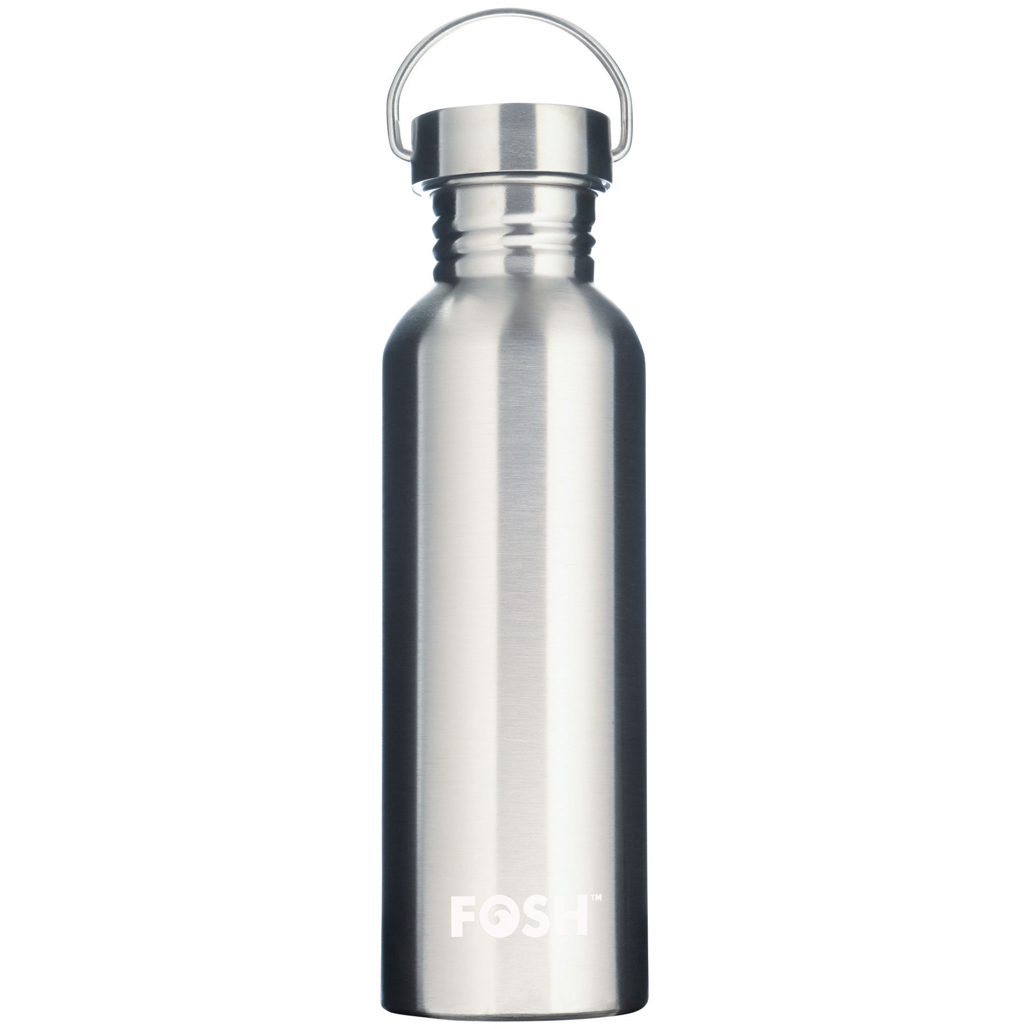 Stainless steel non insulated active water bottle steel