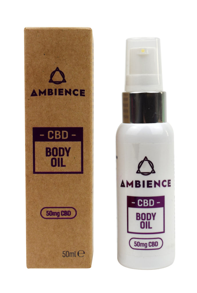 Ambience CBD Infused 50mg CBD Body Oil 100ml