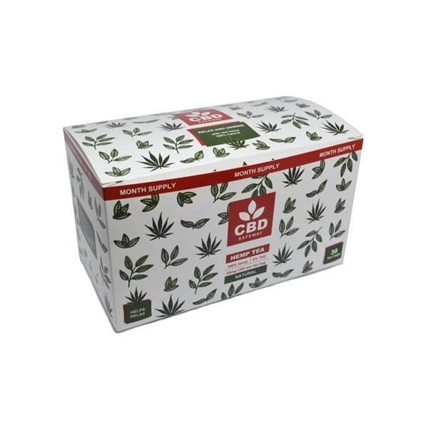 CBD Safe Way 1350mg CBD Natural CBD Tea - 30 Bags