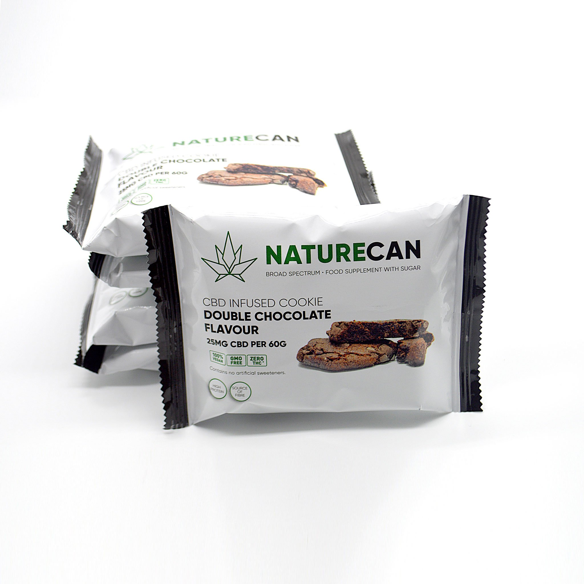 Naturecan 25mg CBD Double Chocolate Vegan Cookie 60g