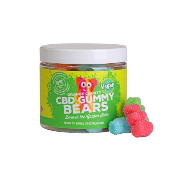 Orange County CBD 10mg Gummy Bears Small Pack