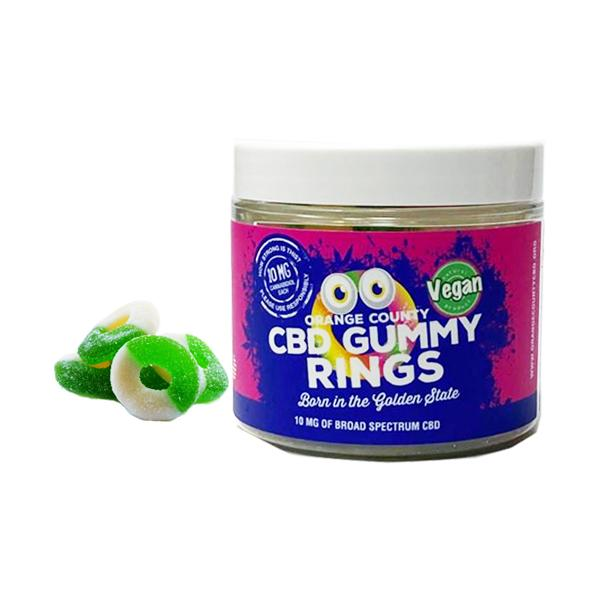 Orange County CBD 50mg Gummy Rings Small Pack