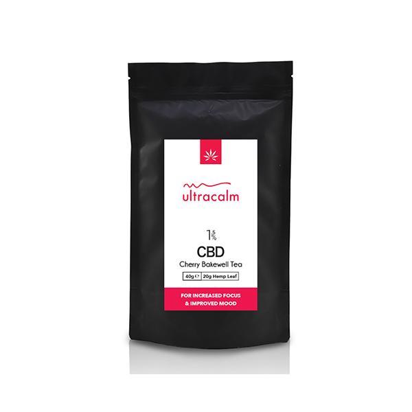 Ultracalm 1.5% CBD Hemp Tea - Cherry Bakewell 40g