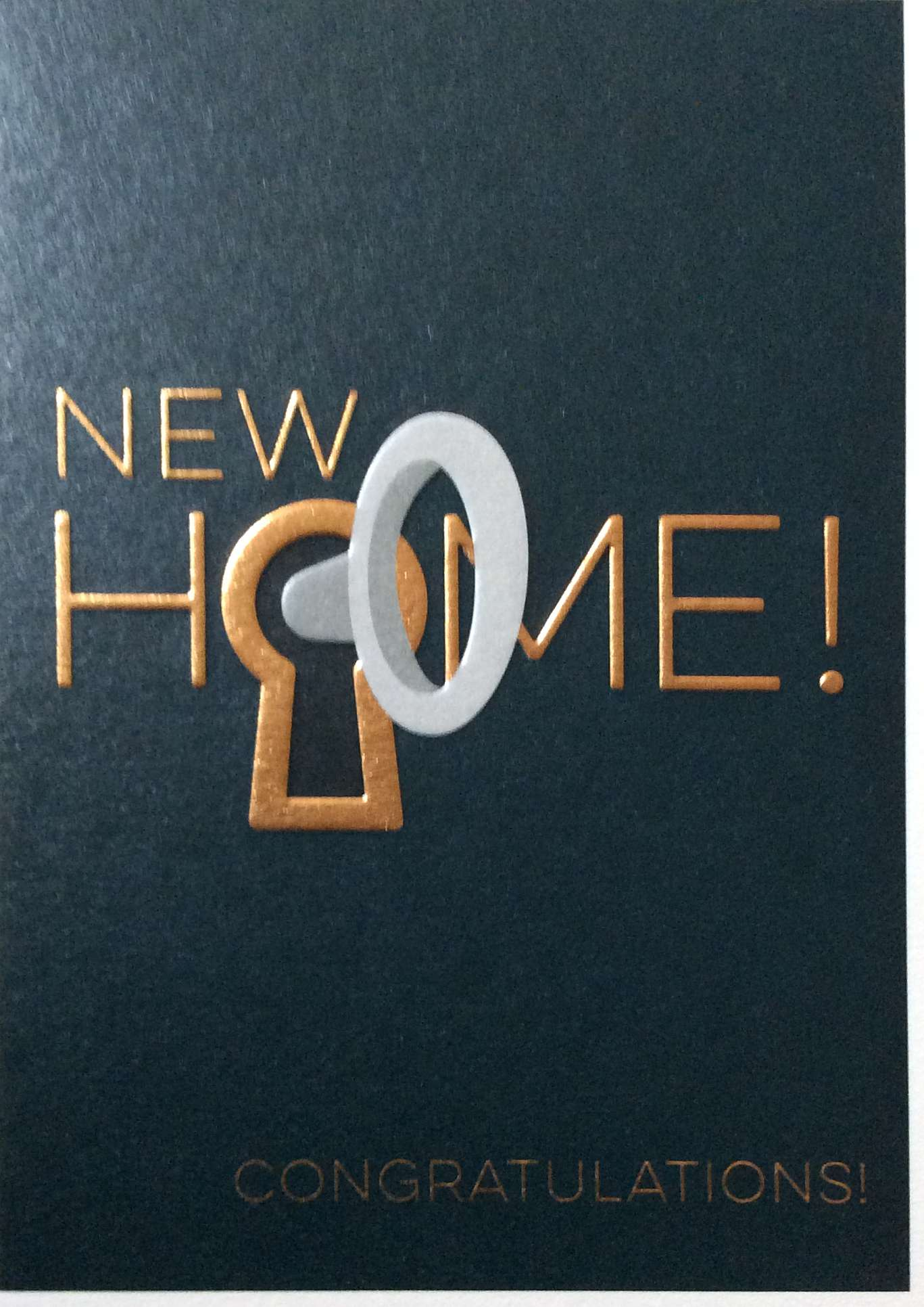 New Home congratulations!