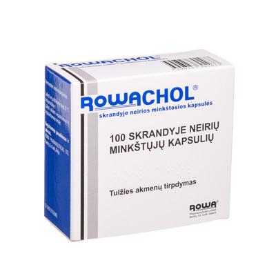 ROWACHOL capsules, N100 / ROWACHOL minkštos kapsulės, N100